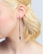 SPIKY LONG EARRINGS